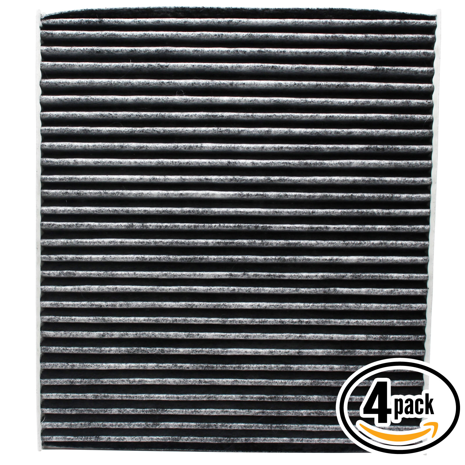 4-Pack Replacement Cabin Air Filter for KIA 97133-2E210 Car/Automotive - Activated Carbon, ACF-10709 - image 4 of 4