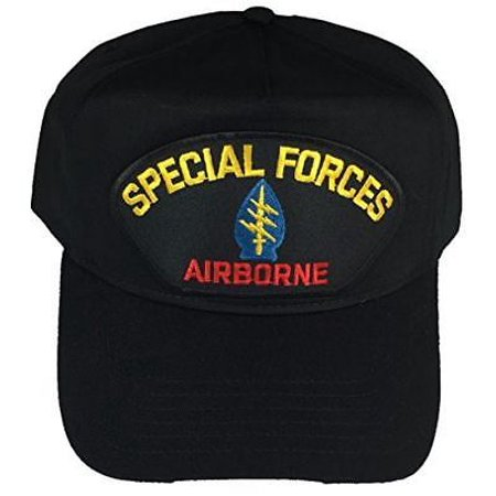 US ARMY SPECIAL FORCES SF AIRBORNE HAT GREEN BERET QUIET PROFESSIONAL VETERAN