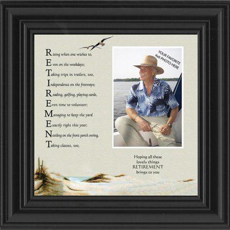 Retirement  Acronym About The Joy Of Retirement  Personalized Picture 10X10 6768