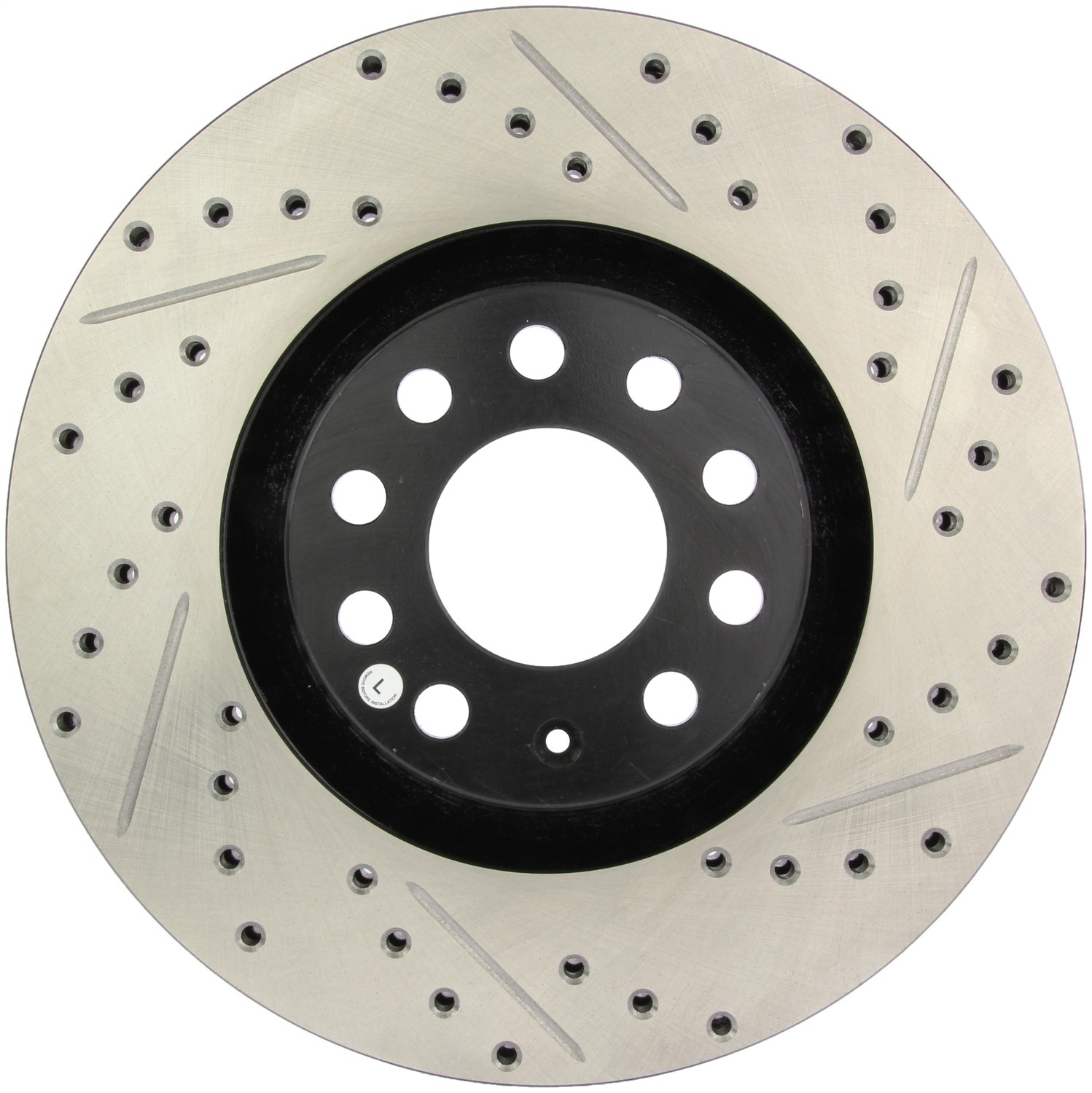 StopTech 127.33096L StopTech Sport Rotors; Drilled And Slotted; Front Left;12.59 in. Dia.; 1.81 in. Height;