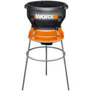 WORX WG430 13 Amp Foldable Bladeless Electric Leaf Mulcher,Red