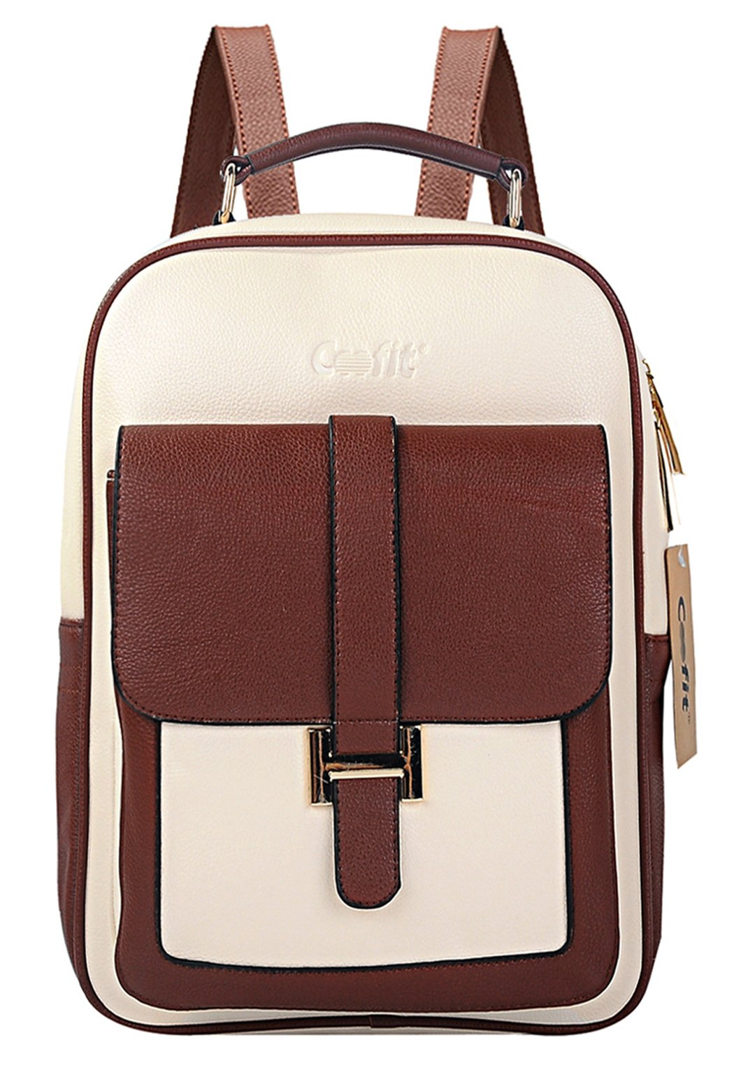 Coofit - Coofit Girl's Leather Backpack College