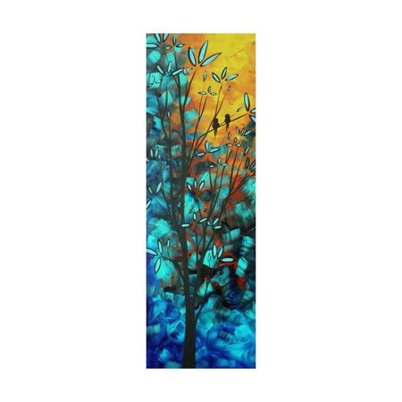 Love Is In The Air Colorful Bird Painting Print Wall Art By Megan Aroon