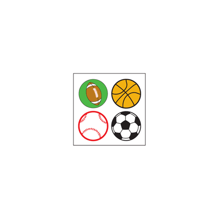 Incentive Stickers - Sports (Pack of 1728)