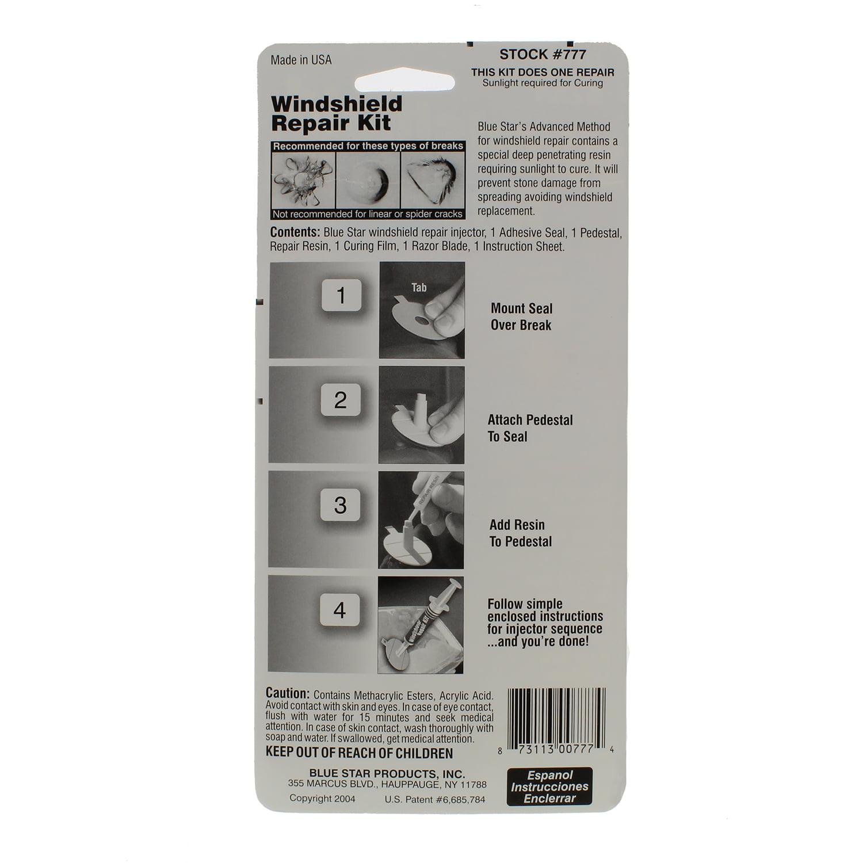 Blue Star Windshield Repair Kit Does One Repair Walmart Com Walmart Com