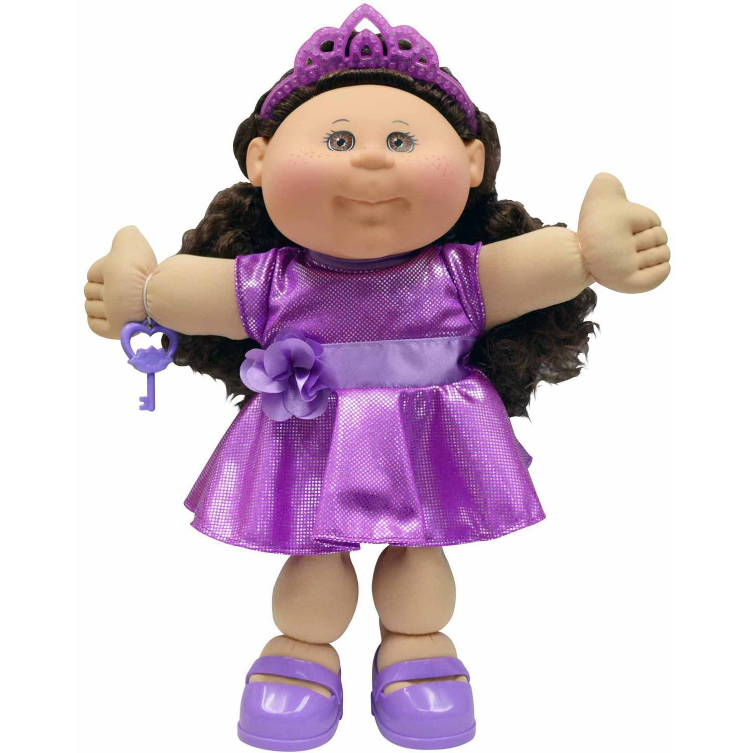 "Cabbage Patch Kids 14"" Girl, Caucasian, Brunette Hair"