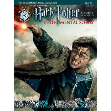 Harry Potter Instrumental Solos for Strings : Cello, Book & (Not Alone A Very Potter Musical Sheet Music)