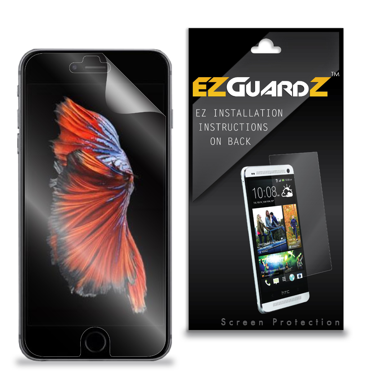 (1-Pack) EZGuardZ Screen Protector for Huawei Ascend W1 H883G (Ultra Clear)