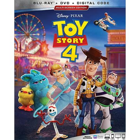 Toy Story 4 (Blu-ray + DVD + Digital Copy) (Toy Story 4 Movie)