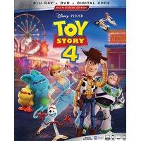 Toy Story 4 (Blu-ray + DVD + Digital Copy)
