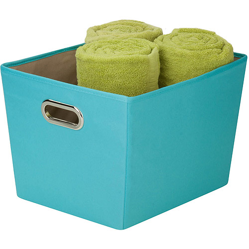 Honey-Can-Do Medium Canvas Storage Bin with Handles