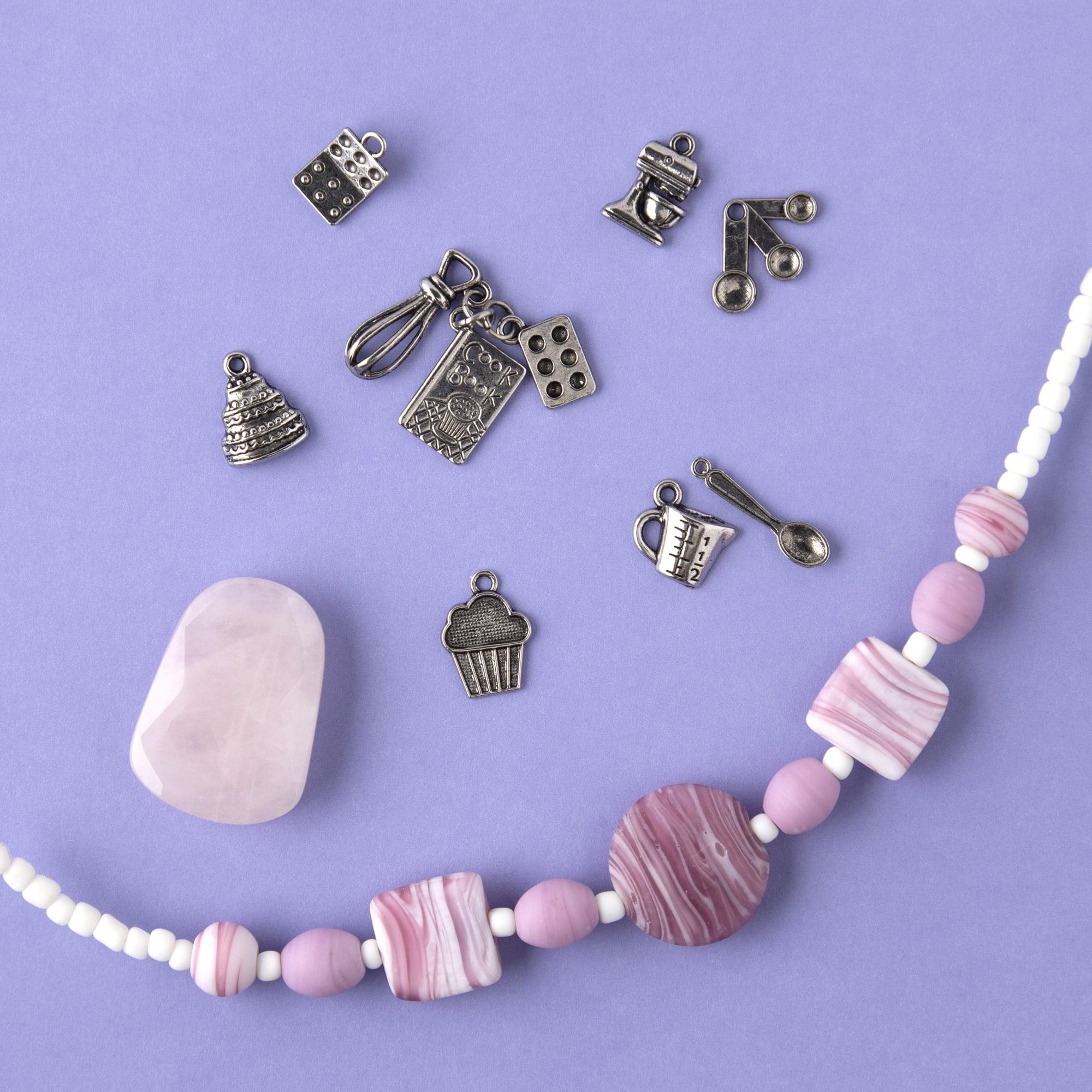 Vintage Tie-dye Strand of Beads