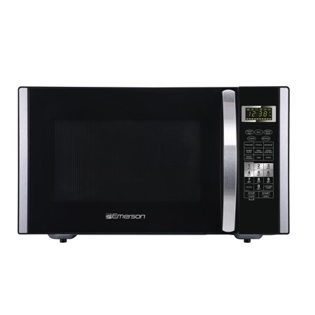 Emerson 1.5 Cu. Ft. 1000W Stainless Steel Convection Microwave Oven with Grill Touch Control (Emerson Stainless Steel Microwave 1-3 Cu Ft)