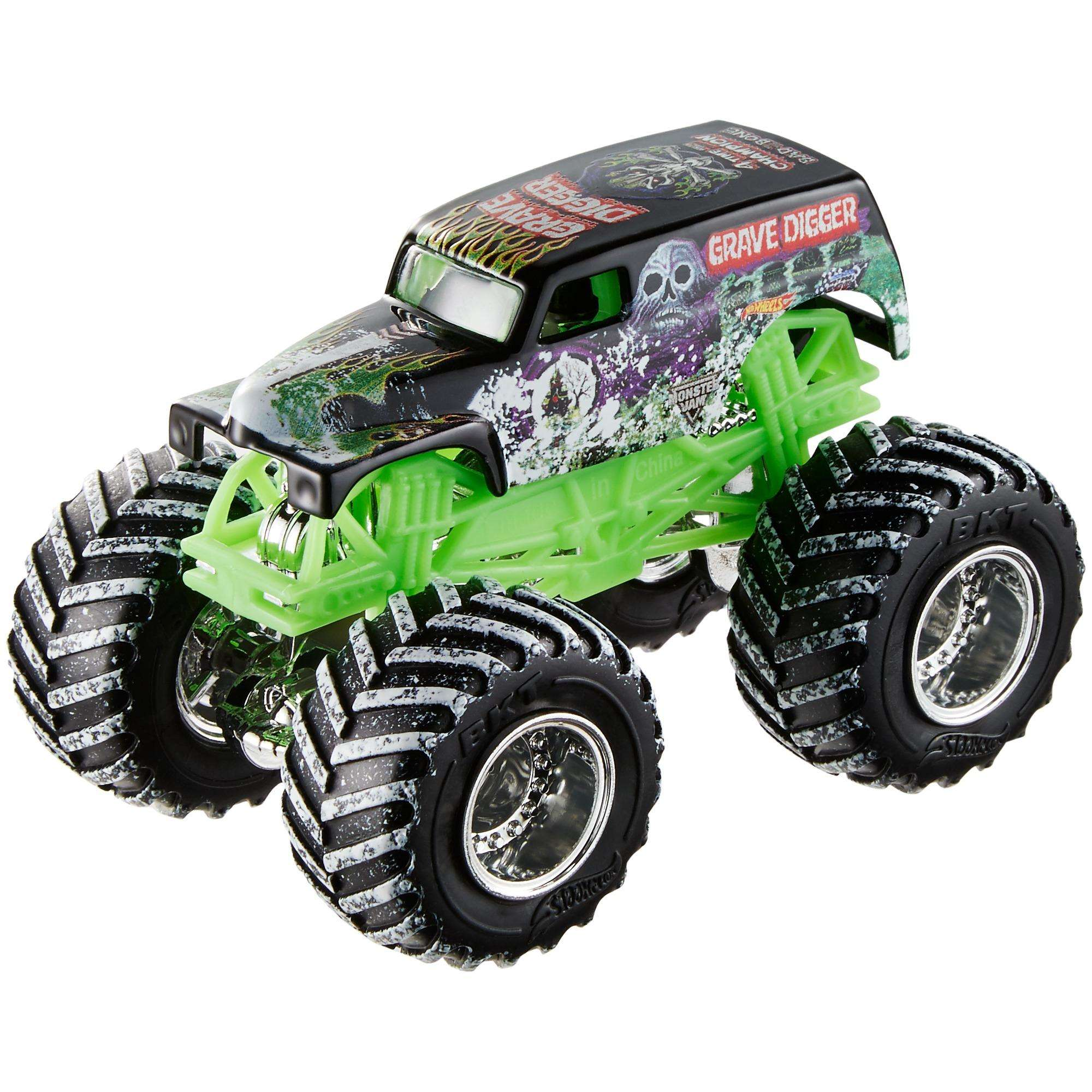 Hot Wheels Monster Jam 1:64 Scale Snow Vehicles (Styles May Vary)