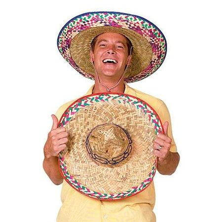 Sombrero Party Hat Colors May Vary, 12 Pack - Custom Sombrero
