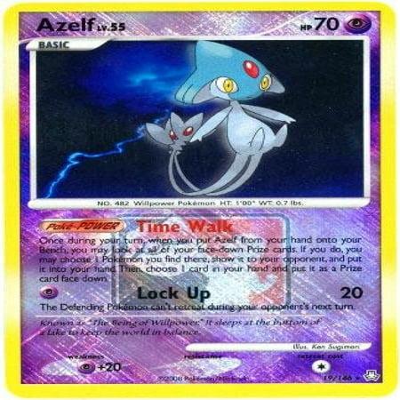 Pokemon League Promo Single Card Azelf #19