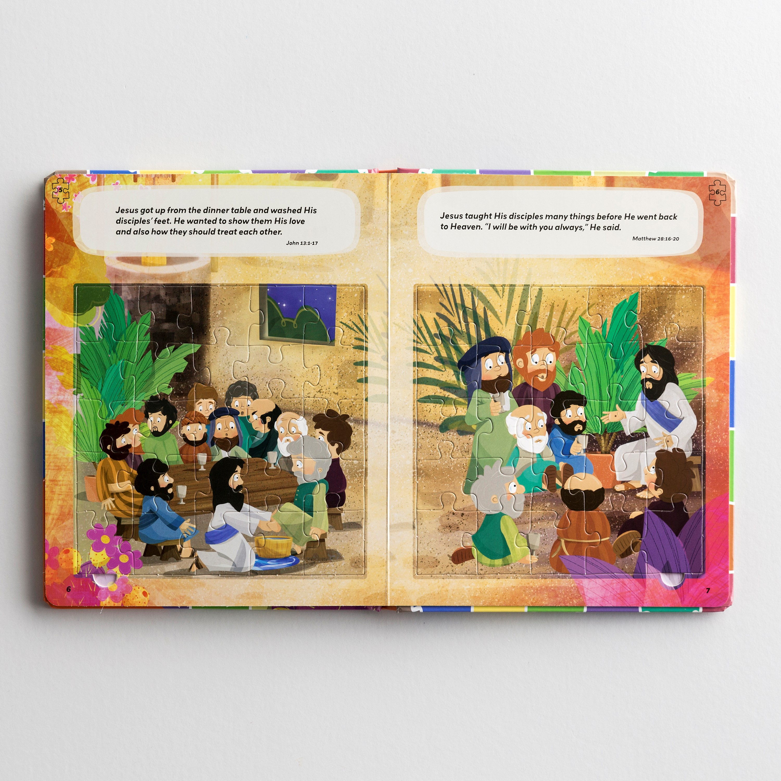 6-In-1 Puzzle Bible: The Love of Jesus (Board Book)