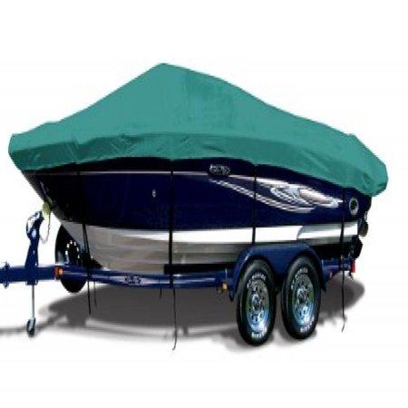 Aquamarine Exact Fit Boat Cover Fitting 1992 2000 Alumacraft Crappie Jon W Stbd Troll Mtr W Att Mh O B Models  9 25 Oz  Sunbrella Acrylic