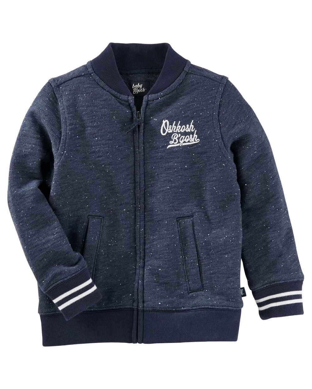 OshKosh B'gosh Little Boys' Baseball Jacket, 2-Toddler