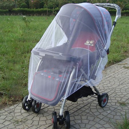 ZEDWELL Baby Mosquito Net for Stroller Carriers Car Sears Cradles Cribs Bassinets & Playpens - Baby Insect Netting Bug Net for Infant Stroller - Ultra Fine Mesh Protection Against Mosquitoes Baby Mosquito Net for Stroller, Carriers, Car Seats, Cradles, Cribs, Bassinets and Playpens:1.Protects your baby from insect bites and disease.2.Fits strollers, infant car seats, carriers and cradles.3.Functions as a mosquito barrier, putting a shield around your little one.4.Stretches to easily conform to your stroller in every position.5.Made of 100% polyester with breathable fabric to be ultralight, stretchy and durable.6.DEET- and chemical-free.7.Precision perforated and ventilation holes.