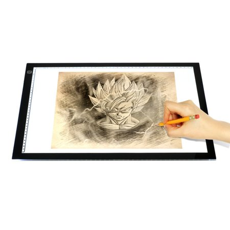 A3 Ultra-thin Portable LED Light Box tracer USB Power LED Artcraft Tracing Light Pad Light Box for Artists,Drawing, Sketching, Animation.