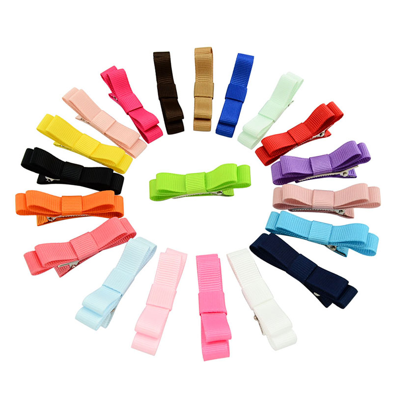 20Pcs Hair Barrettes, Coxeer Non-slip Multicolor Assembling Hair Clips Hair Bows Hair Pins Hair Accessories for Baby Girls Kids Teens Toddlers Children