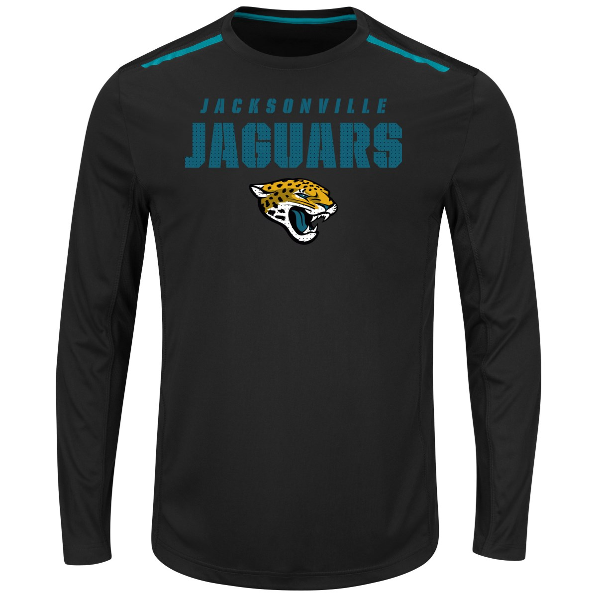 "Jacksonville Jaguars Majestic NFL ""Fanfare IX"" Men's Cool Base L S Shirt by Majestic"