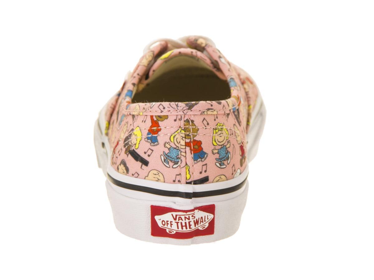 Vans Kids Authentic Authentic Kids (Peanuts) Skate Shoe 039c05