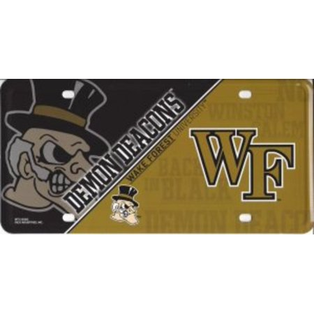 Wake Forest Demon Deacons Metal License - Wake Forest Demon Deacons Seal