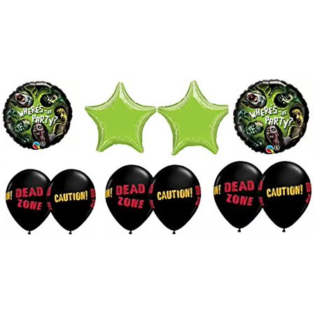 Zombies Party Balloon Bouquet - Zombie Party Supplies
