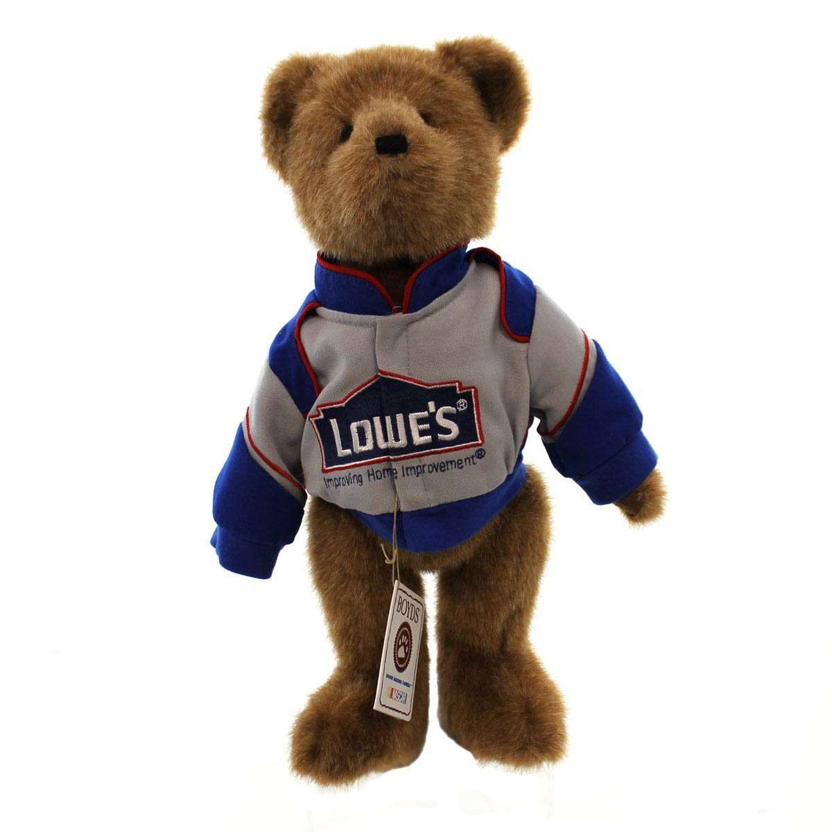 Boyds Bears Plush JIMMIE JOHNSON JACKET ; CAP 919406 Nasc...