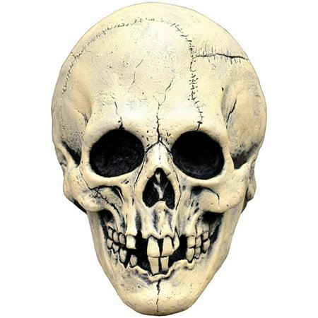 Nightowl Skull White Latex Adult Halloween Mask Accessory (Combat Arms Halloween Skull)