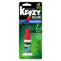 Krazy Glue KG94548R Instant Crazy Glue Home & Office Brush 0.18-Ounce