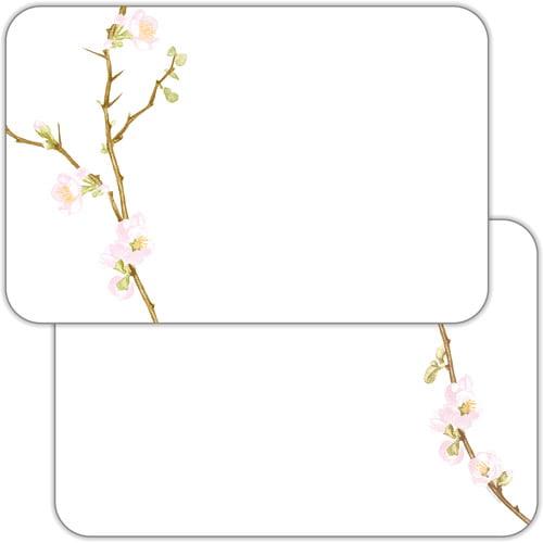 Corelle Cherry Blossom Microban Decofoam Reversible Placemats, Set of 6
