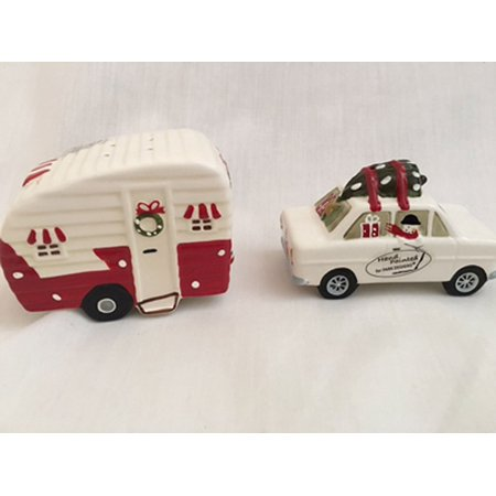 ... Christmas Vacation Salt & Pepper Shakers Set 871-678, Car has 3 holes
