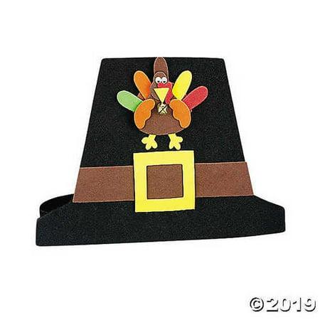 Pilgrim Hat Craft Kit - Pilgrim Crafts