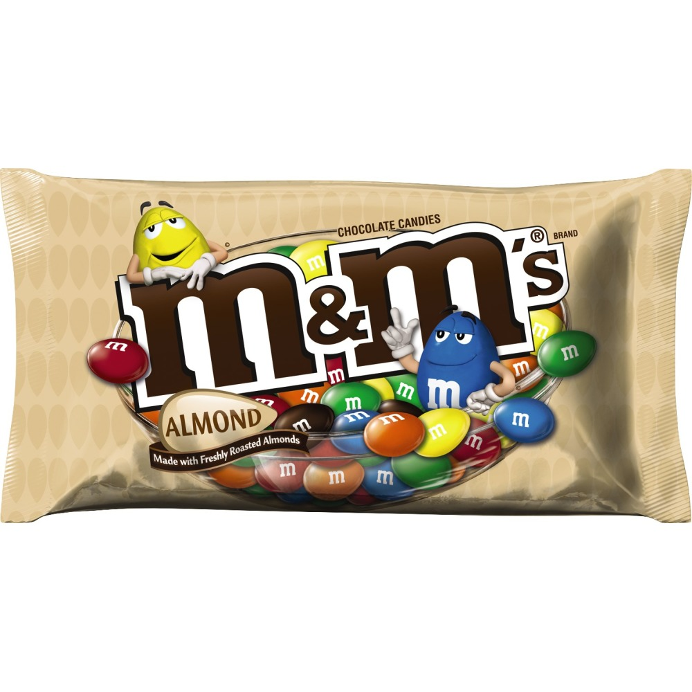 M&M'S Almond Chocolate Candy Bag, 9.9 oz