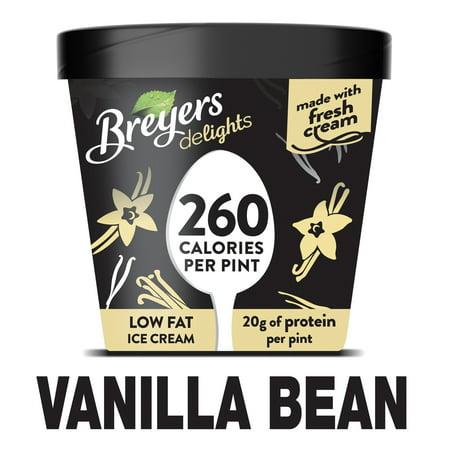 Breyers Delights Vanilla Bean Ice Cream - 1pt