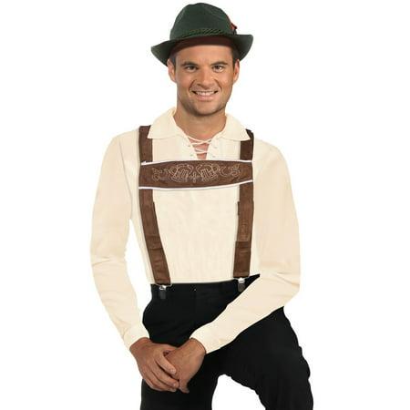 Lederhosen Suspenders Halloween Costume Accessory