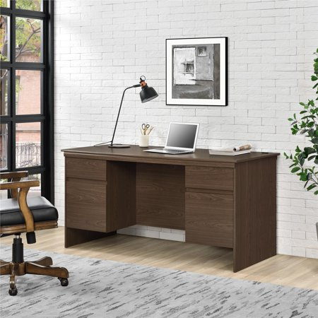 Ameriwood Home Presley Executive Desk, Multiple Colors