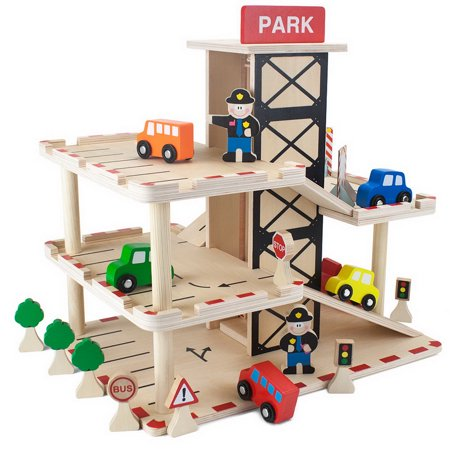 - Brybelly Wooden Wonders Downtown Deluxe Parking Garage