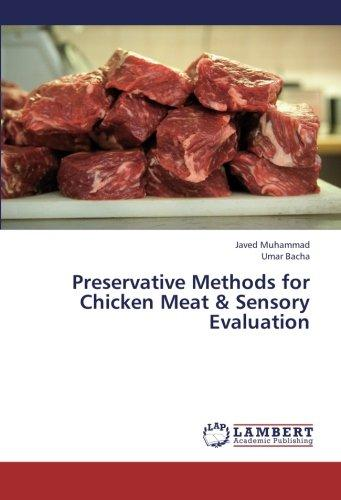 Preservative Methods for Chicken Meat & Sensory Evaluation by