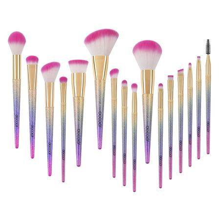docolor makeup brushes clearance 16pcs fantasy unicorn