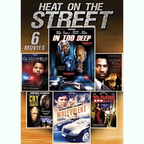 Heat On The Street: A Rage In Harlem / The Glass Shield / Malevolent / In Too Deep / Cry, The Beloved Country / License To Kill