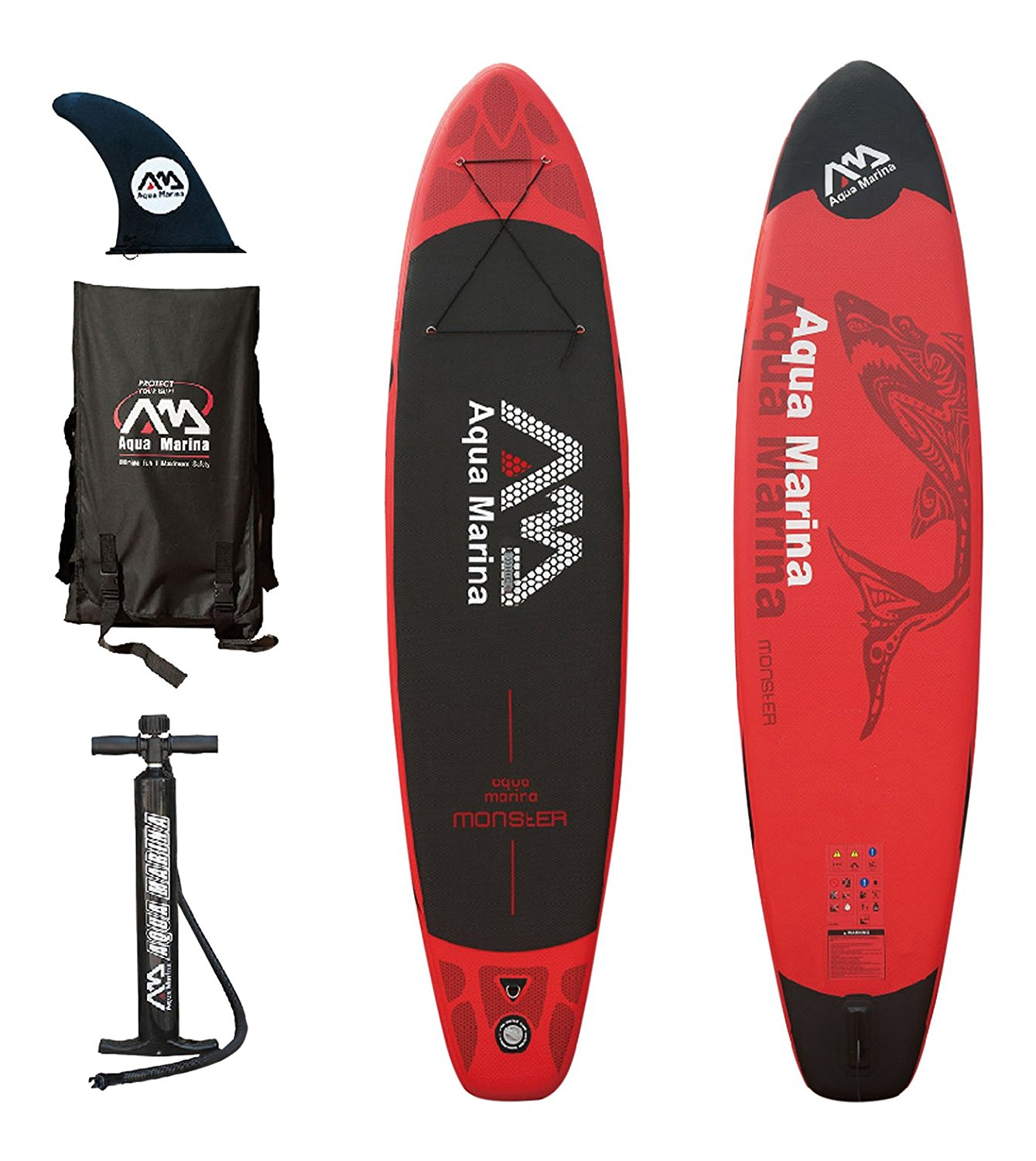 Aqua Marina MONSTER Inflatable Stand-up Paddle Board by