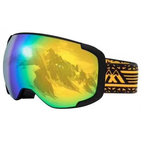 Maxx Mogul Snow Goggle Eyewear Eye Sun Protection Skiing Slopes Ski (Sun Protection Goggles)