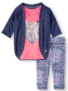 365ee1ec2 Girls Activewear Outfit Sets - Walmart.com
