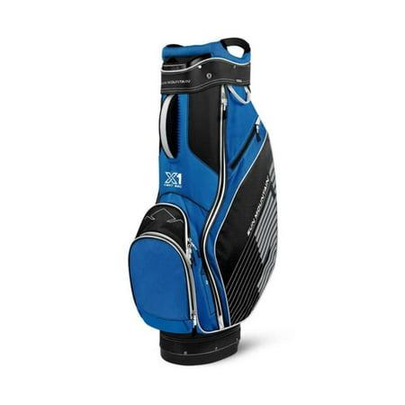 Sun Mountain X-1 Golf Cart Bag, Black/Cobalt/White ()