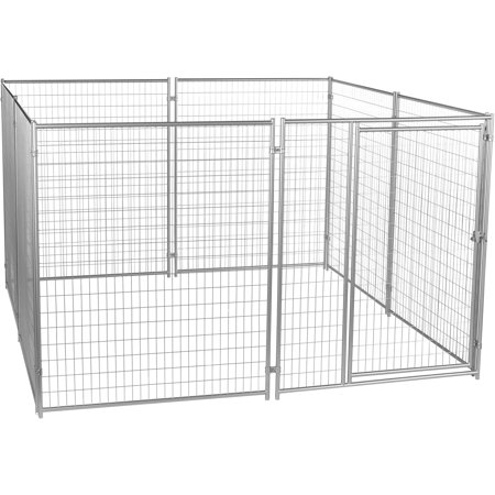 Lucky Dog 6 H x 10 W x 10 L Modular Welded Wire Kennel Kit