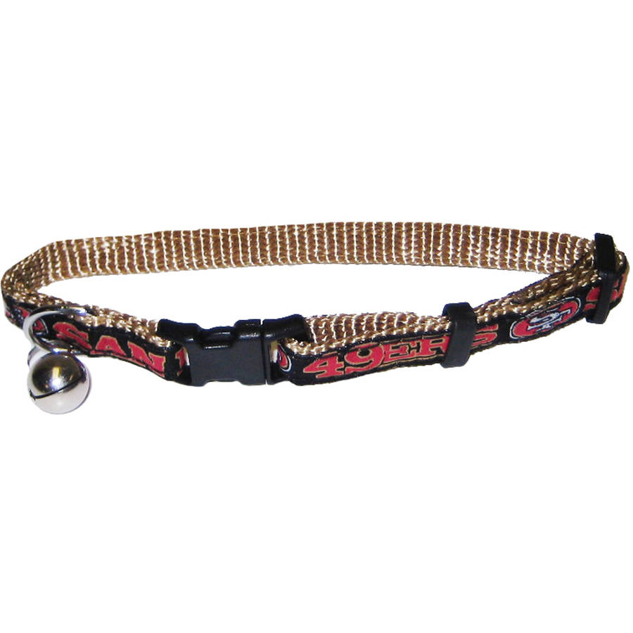 Pets First NFL San Francisco 49ers Cat Collar